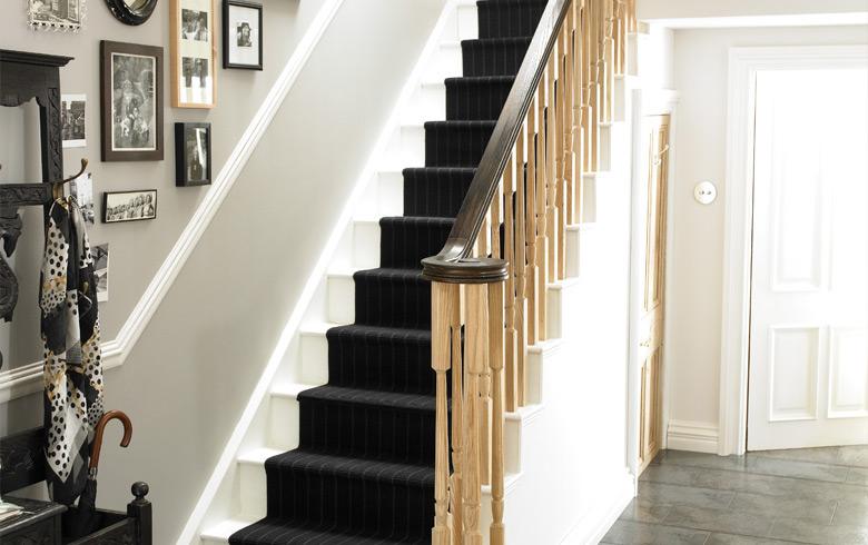 Ash staircase