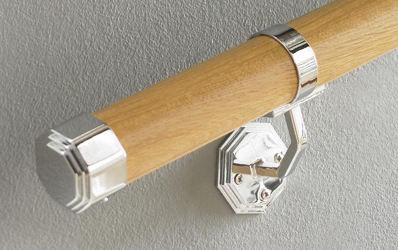 Chrome Handrail Brackets