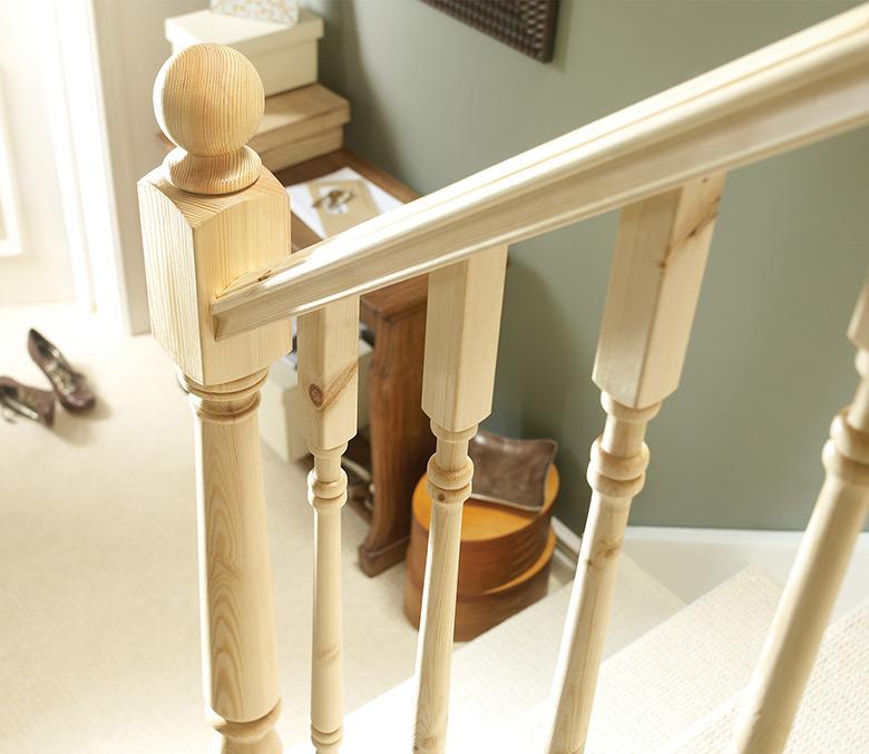 Pine Handrails