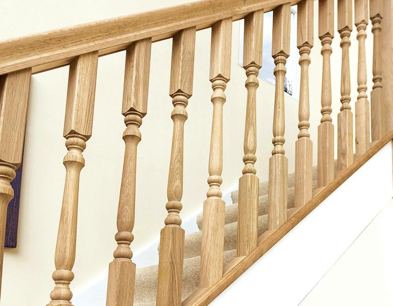 Oak Stair Spindles