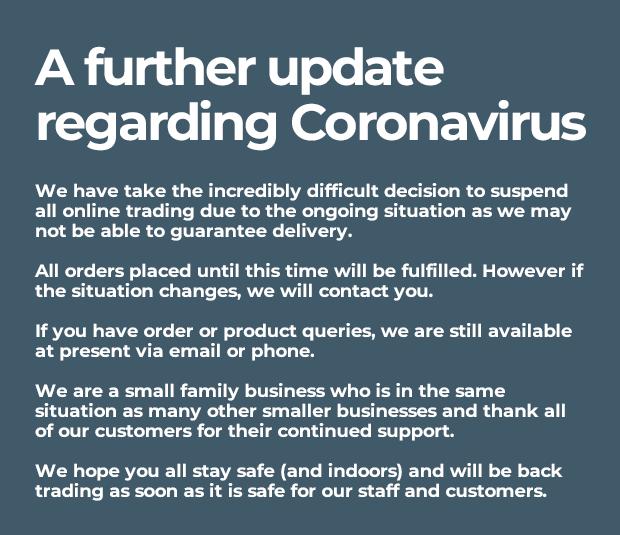 A futher update regarding Coronavirus